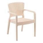 Antares Armchair Cream - Tilia