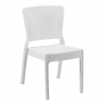 Antares Chair Ivory White - Tilia