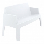 Box Sofa White