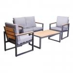 Alu Lounge Set