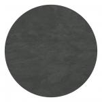 HPL Round Black Rock