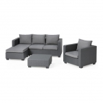 Moorea Corner Set Grey