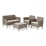 Salemo Lounge Set Cappuccino