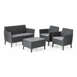 Salemo Lounge Set Grey